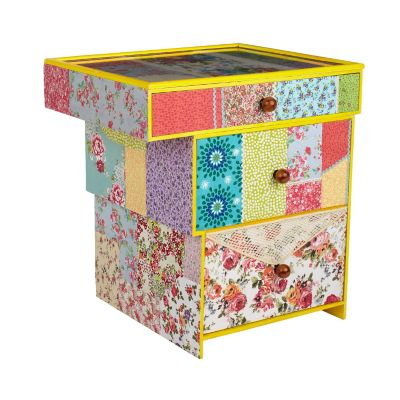 Mackenzie Patchwork End Table