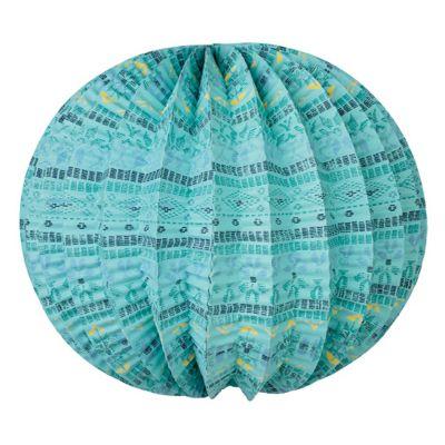 Ikat Print Paper Lantern