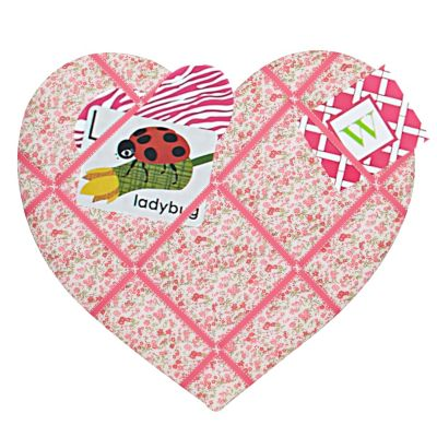 Heart-Shaped Memo Board