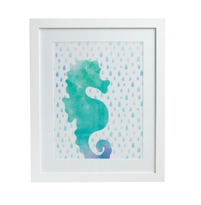 Sea Life Wall Art Collection – Seahorse