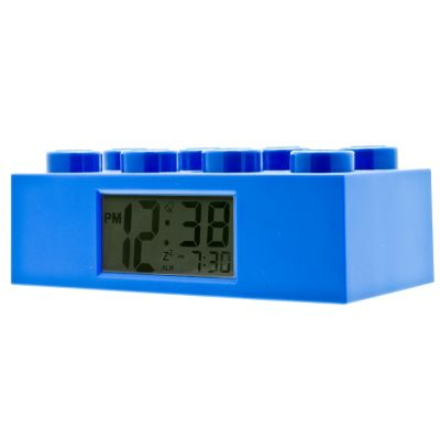 LEGO® Brick Blue Alarm Clock