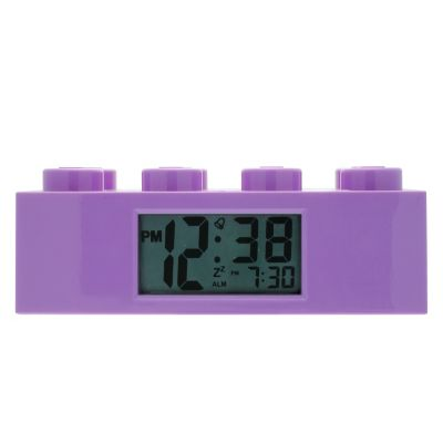 LEGO® Brick Purple Alarm Clock