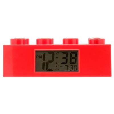 LEGO® Brick Red Alarm Clock