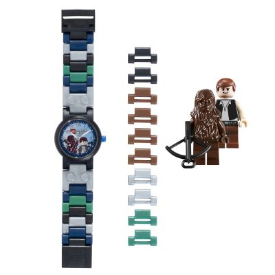 LEGO® Star Wars Watch with 2 Minifigures - Han Solo &  Chewbacca