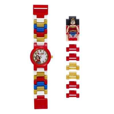 LEGO® Watch with Minifigure Link - Wonder Woman™