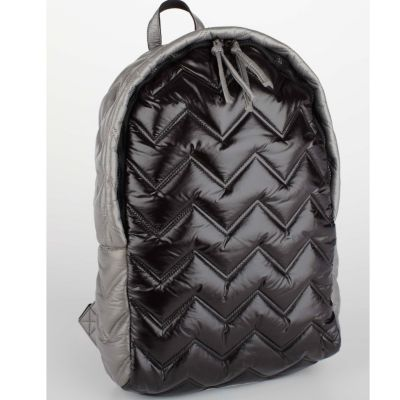 Black Zig Zag Backpack