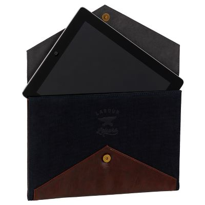 Gentleman's Hardware Blue Canvas Tablet Case