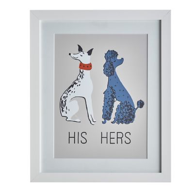Dog Wall Art – His Hers