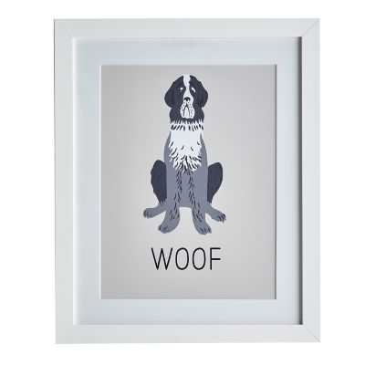 Dog Wall Art – Woof