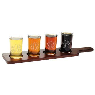 Engravable Beer Flight