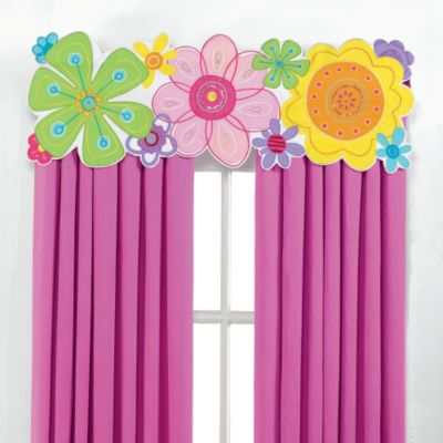 Modern Bloom Valance
