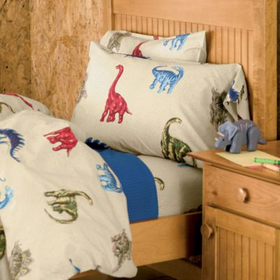Jurassic Percale Bedding