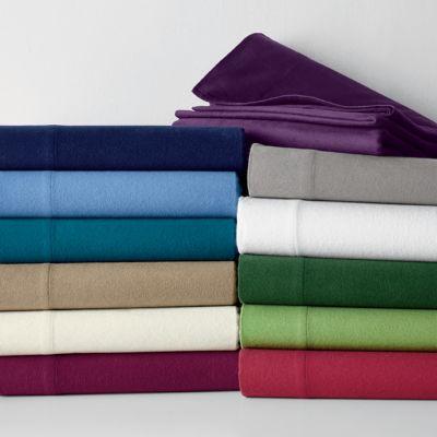5 oz. Solid Flannel Flat Sheet