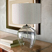 Glass Jug Lamp
