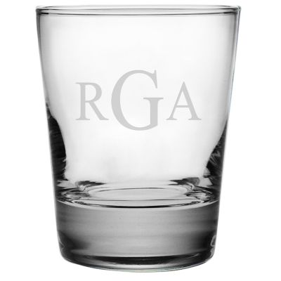 Engravable Double Old Fashioned Glasses, Set of 4