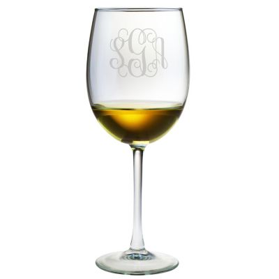 Engravable Wine Glasses, Set of 4