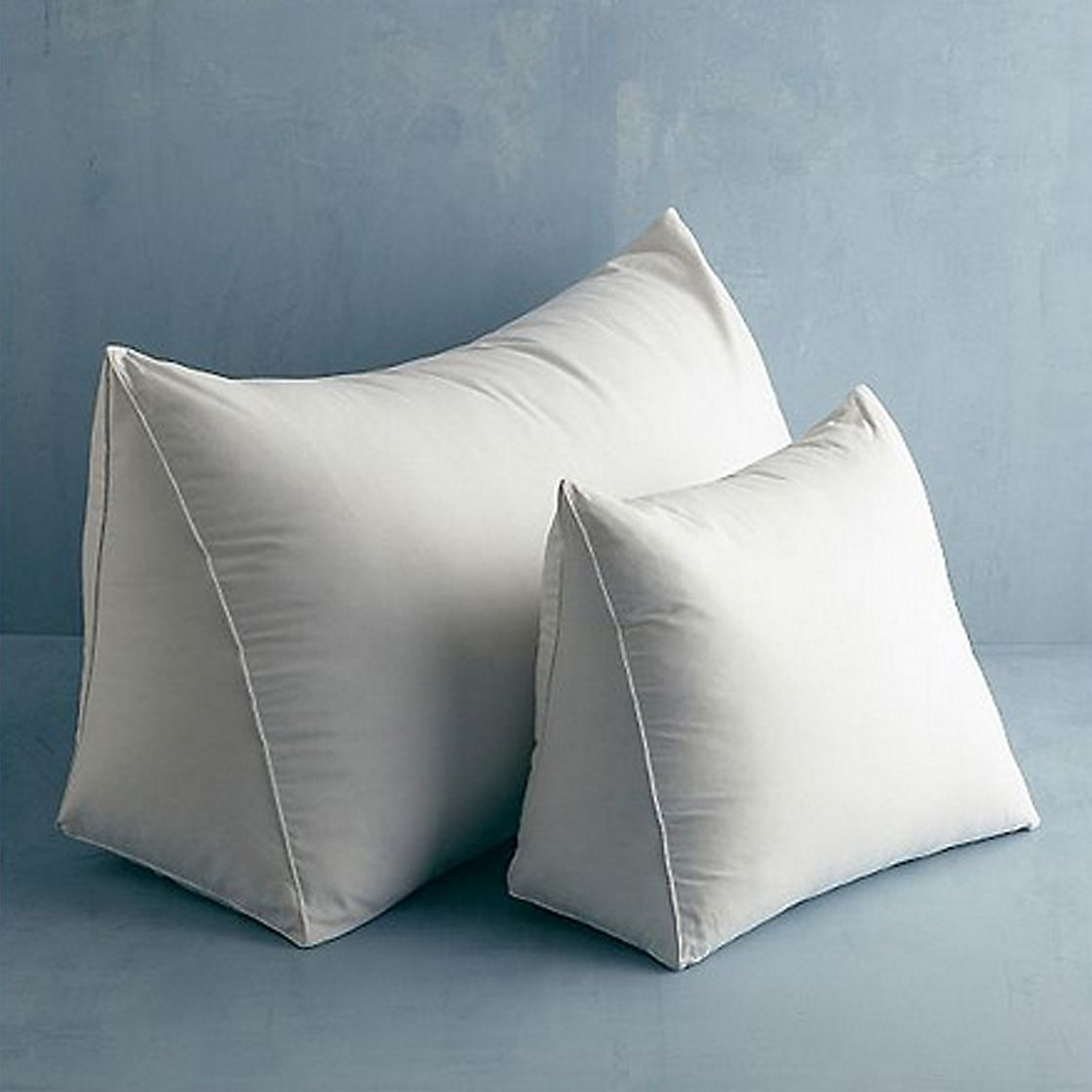Firm 95 Feather 5 Down Reading Wedge Pillow The