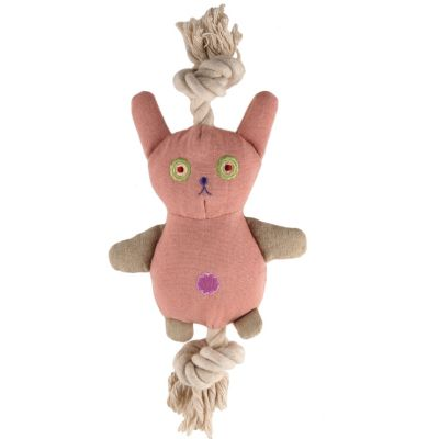 Simply Fido Bunny Rope Plush Toy