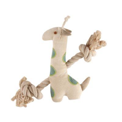 Simply Fido Giraffe Rope Plush Toy