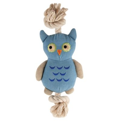Simply Fido Owl Rope Plush Toy