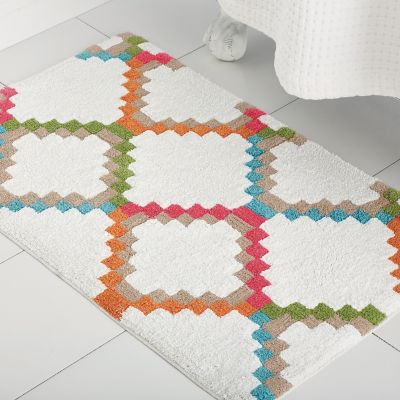 Diamond Bath Rug