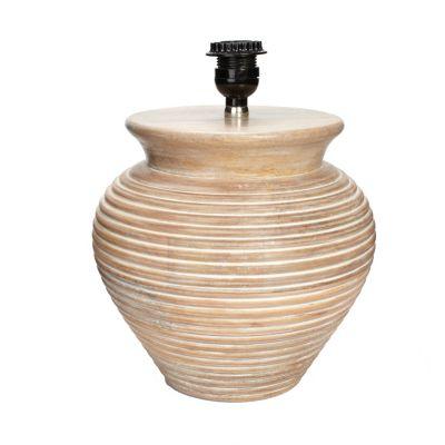 Camden Jar Lamp Base
