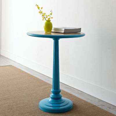Blue Meridian Accent Table