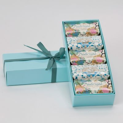 Claus Porto Soap Gift Set- Blue- Water Lily/Marine by Lafco