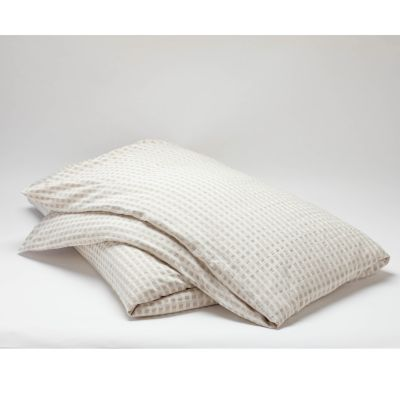 Birch Organic Cotton and Linen Duvet Cover by Coyuchi