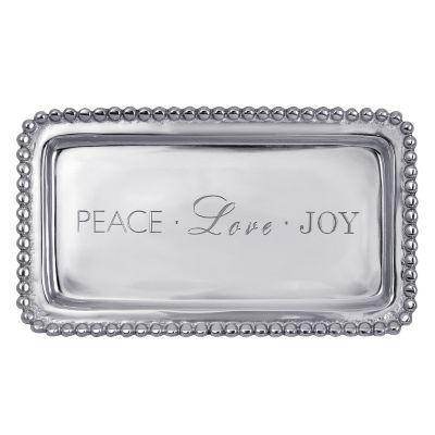 Mariposa Peace Love Joy Tray