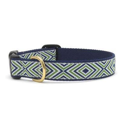 Diamond Stripe Dog Collar