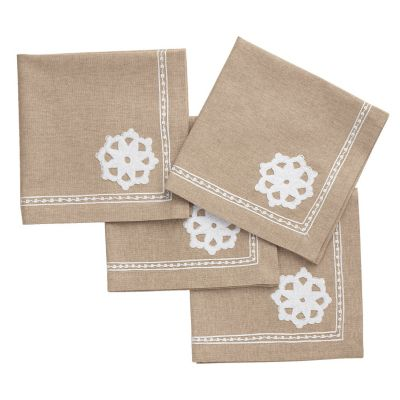 Scroll Napkins, Set Of 4