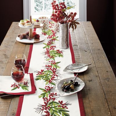 Holly Berry Table Top Collection