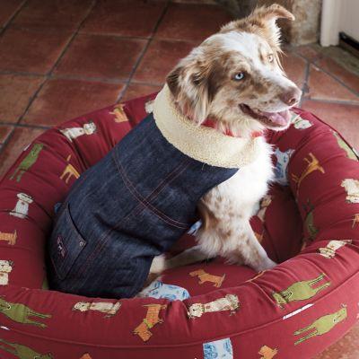 Dog Pound Round Dog Bed