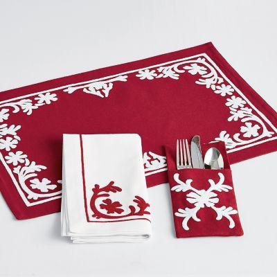 Snowflake Table Top Set