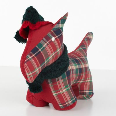 Red Scottie Dog Door Stop