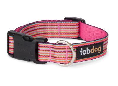 Fab Dog™ Thin Multi Stripe Dog Collar