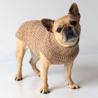 Tweed Dog Sweater