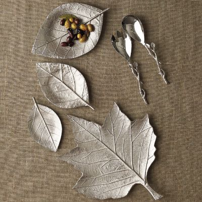 Fall Leaves Serving Platters