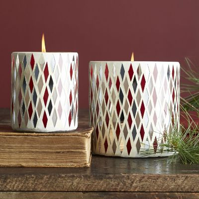 Harlequin Decorative Candles