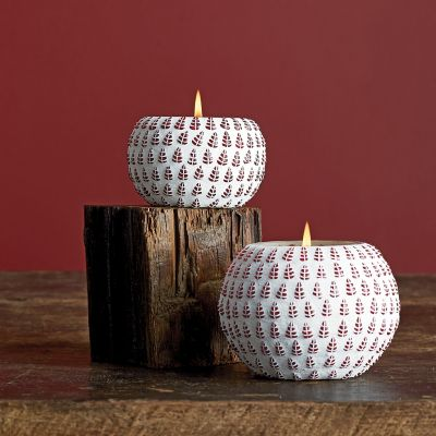 Holiday Candles, Set Of 2
