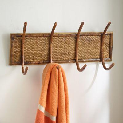 Rattan Bamboo Hanging Rack