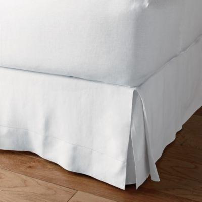 Comfort Wash Linen Bedskirt, 14