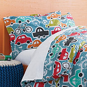 Cars Percale Bedding