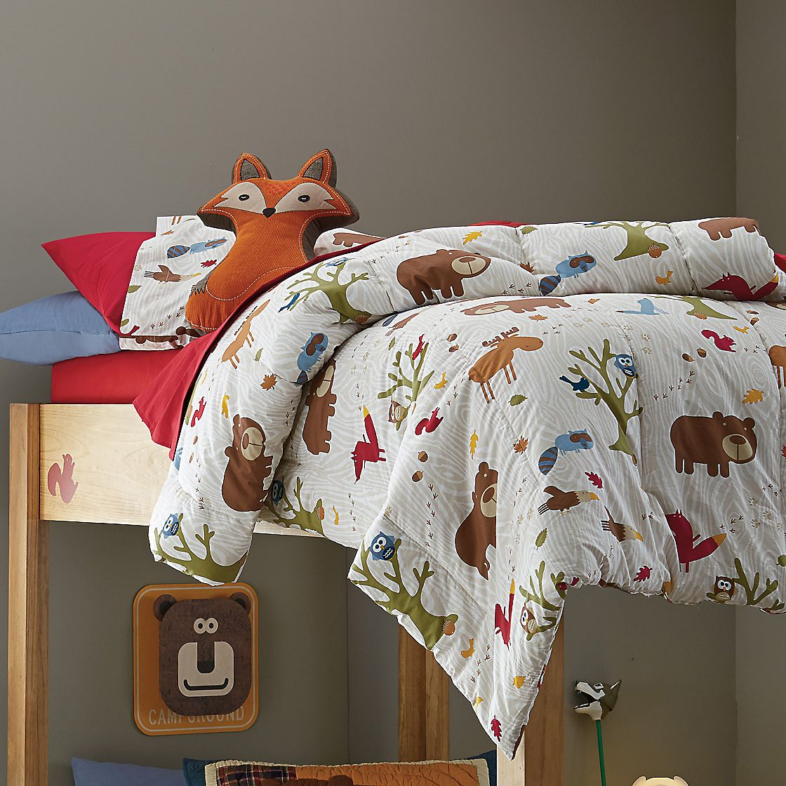 Lambs and ivy echo bedding - Woodland Forest Animal Baby Bedding Set Car Tuning