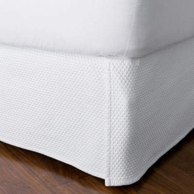 "Madelyn Matelassé Bedskirt, 14"" Drop"