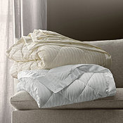 Legends® Damask Striped Primaloft® Deluxe Blanket