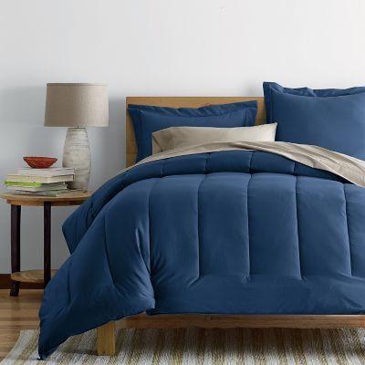 Wrinkle-Free 300-Thread Count Sateen Comforter
