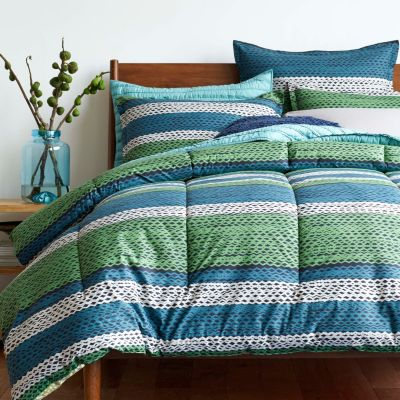 LoftHome by The Company Store® Stripe Moonshadow Bedding