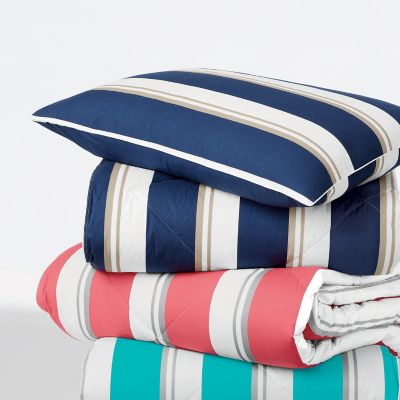 St. Tropez® Schooner Stripe TCS® Down and TCS® Down-Free™ Comforter